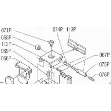 Side adjustment screw MP90S