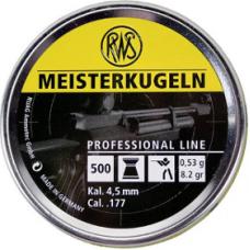 RWS Meisterkugeln GUL 0,53