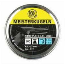 RWS Meisterkugeln BLÅ 0,45