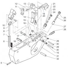 Trigger guard rubber damper